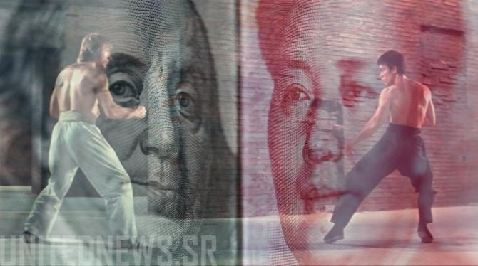 HOE DE CHINESE YUAN DE AMERIKAANSE DOLLAR ZAL ONTTRONEN