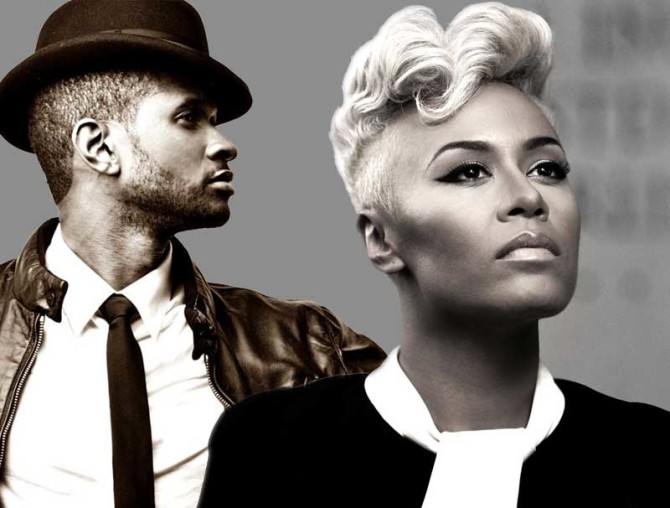 USHER EN EMELI SANDE NAAR CURACAO NORTH SEA JAZZ