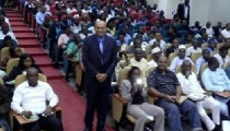 RAMPERSAD VERZORGT GOOD GOVERNANCE  KEYNOTE VOOR 500 BANKIERS IN NIGERIA