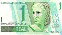 BRAZILIAANSE MUNT DAALT NAAR HISTORISCH DIEPTEPUNT