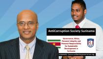 RAMPERSAD & GAJADIEN STARTEN ANTICORRUPTION SOCIETY SURINAME