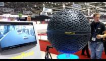 GOODYEAR TEST BOLVORMIGE BANDEN UIT DE 3D-PRINTER