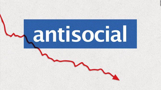 PERSOONLIJKE POSTS STEEDS MINDER POPULAIR OP FB