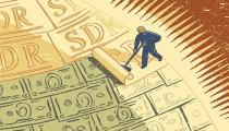 IMF KOMT MET MILJARDEN SDR'S (WERELDGELD) OP DE INTERNATIONALE MARKT