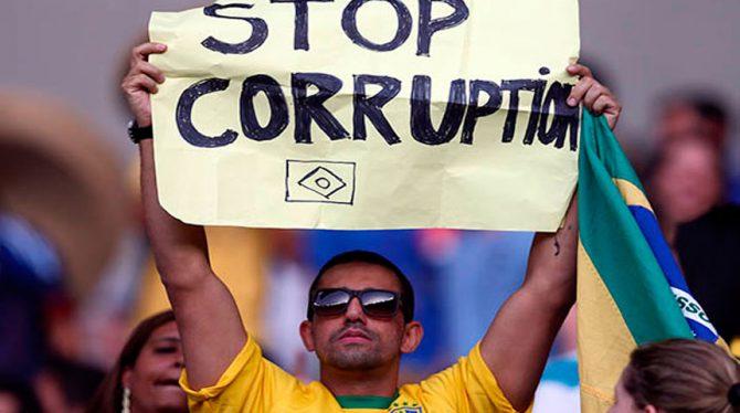 SCHAAMTELOZE CORRUPTIE TREFT OOK DE POLITIEKE KLASSE IN BRAZILIE