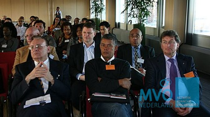 SIMULTANE MVO CONFERENTIE IN SURINAME ALS IN NEDERLAND