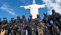BRAZILAANS LEGER STRIJKT IN RIO NEER