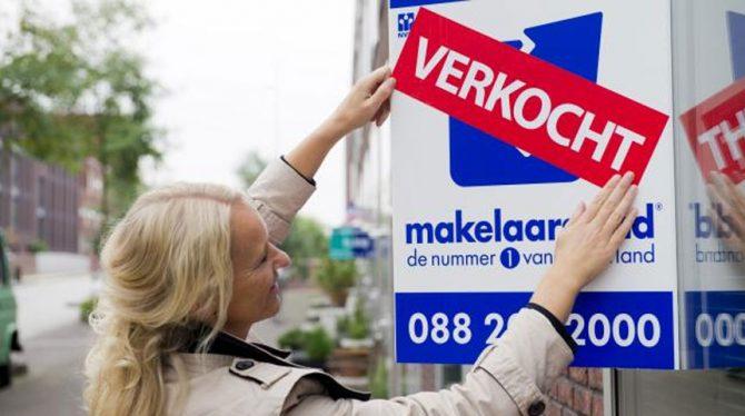 WONINGVERKOOP IN NEDERLAND BLIJFT STERK STIJGEN