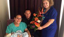 EERSTE BABY TER WERELD VOLGENS GEBOORTEPLAN  IN RCR-MEDISCH CENTRUM