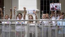 VENEZUELA LAAT ZES POLITIEKE GEVANGENEN VRIJ