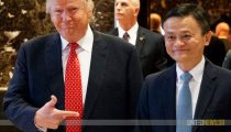 ALIBABA WIL DE WERELD VEROVEREN-THE DONALD IS FAN