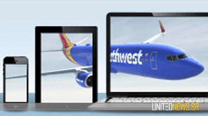 SOUTHWEST AIRLINES INTRODUCEERT WIFI AAN BOORD