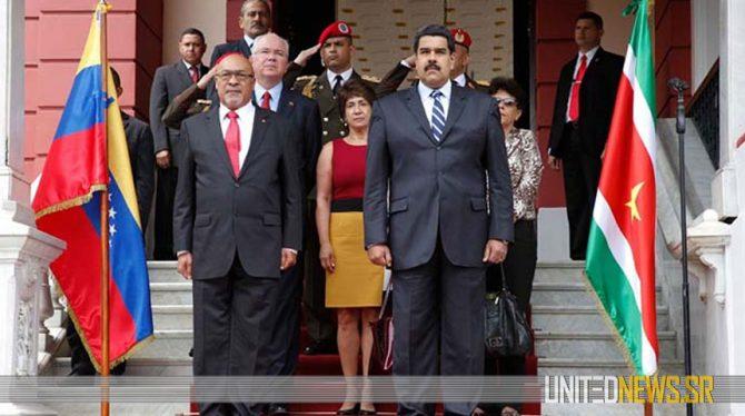 VENEZUELA STAPT UIT OAS