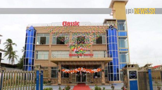 CLASSIC INTERNATIONAL HOTEL & SUITES OPENT DEUREN IN GUYANA