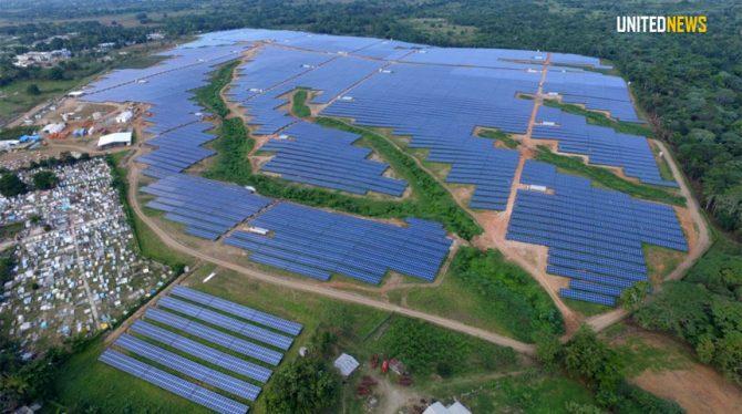 GROOTSTE ZONNE-ENERGIE PROJECT VAN HET CARIBISCHE GEBIED