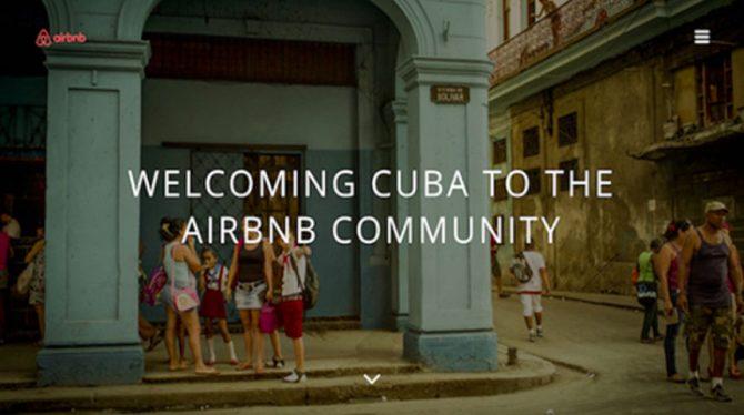 AIRBNB BECONCURREERT BELANGRIJKSTE HOTELKETEN IN CUBA