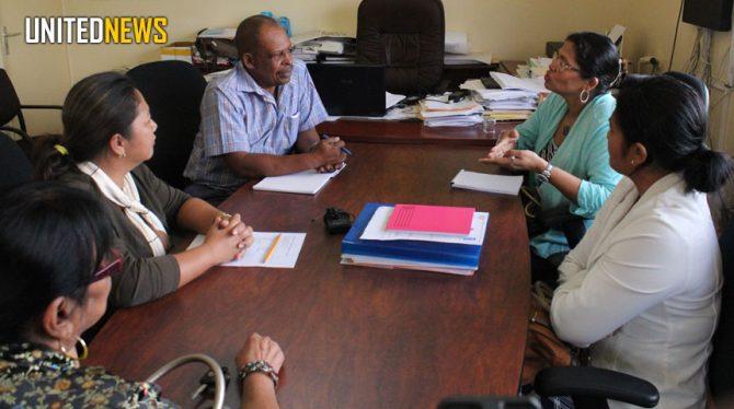 BGA-UNDP  PROJEKTEN TER ECONOMISCHE VERSTERKING NICKERIANEN