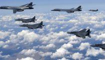 BLUNDER NOORD-KOREA: LEGER ZOU AMERIKAANSE B-1-BOMMENWERPERS NIET HEBBEN ZIEN AANKOMEN