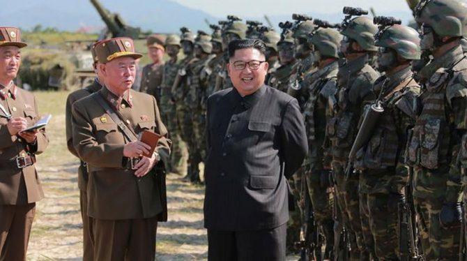 NOORD-KOREA ZOU GEHEIM OORLOGSPLAN VS EN ZUID-KOREA OM KIM JONG-UN TE DODEN HEBBEN GEHACKT