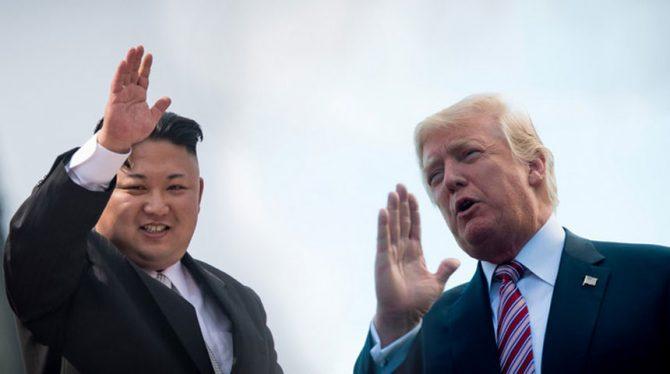 NOORD-KOREA DREIGT TOP MET TRUMP AF TE ZEGGEN