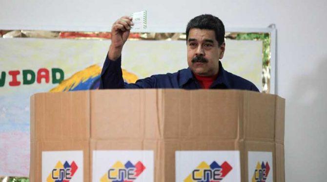 OPPOSITIE VENEZUELA MAG NIET MEER MEEDOEN AAN DE VERKIEZINGEN