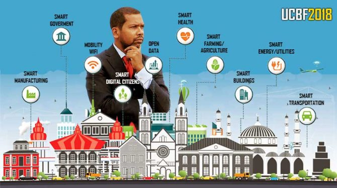 SEMINAR | HOW YOU CREATE SMART CITY'S IN THE CARIBBEAN : A STORY BY ANIL SADHOERAM