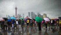 CHINA HEEFT MEER WATER NODIG. DUS BOUWT HET LAND EEN REGENMACHINE