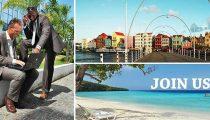 INVITATION TO SEMINAR ON TOURISM, INTERNATIONAL TRADE AND LOGISTICS: CURAÇAO OPEN FOR BUSINESS & LEISURE| FRI 22 JUNE | 8:00- 13:00|BANQUET HALL TORARICA, SURINAME