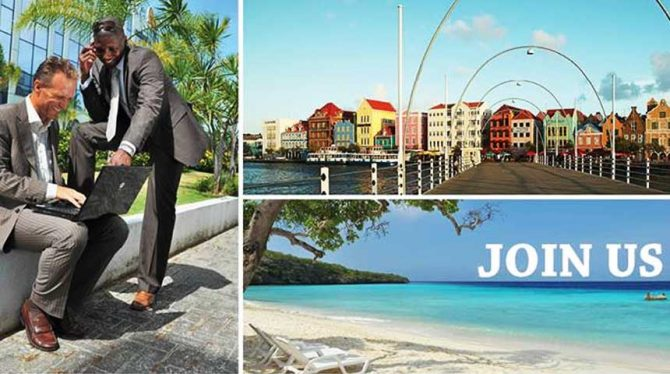 INVITATION TO SEMINAR ON TOURISM, INTERNATIONAL TRADE AND LOGISTICS: CURAÇAO OPEN FOR BUSINESS & LEISURE  FRI 22 JUNE   8:00- 13:00 BANQUET HALL TORARICA, SURINAME