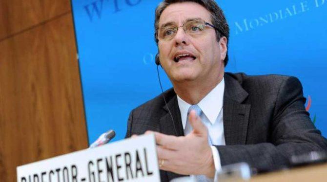 DIRECTEUR WTO: 'WERELDECONOMIE IS IN GEVAAR'