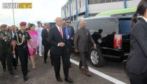 PRESIDENT RAM NATH KOVIND VAN INDIA IS IN SURINAME