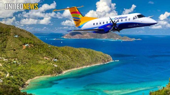VLUCHTEN INTERCARIBBEAN AIRWAYS UITGEBREID MET ARUBA EN CURAÇAO