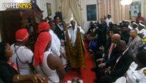 BOUTERSE INSTALLEERT ABOIKONI ONDANKS PROTESTEN SAAMAKA