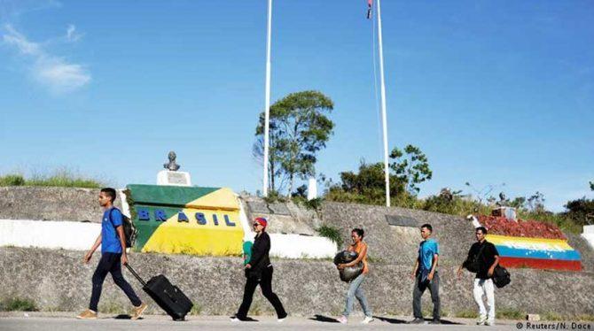 BRAZILIË SLUIT GRENS MET VENEZUELA OM TOESTROOM MIGRANTEN