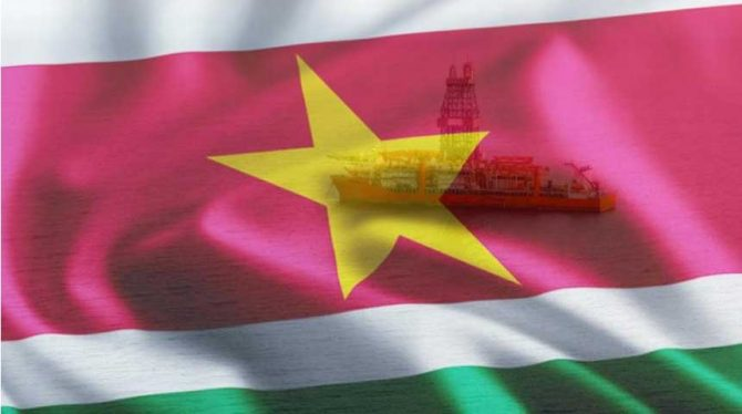 OIL COMPANIES STEP UP EXPLORATION DRILLING PLANS OFFSHORE SURINAME