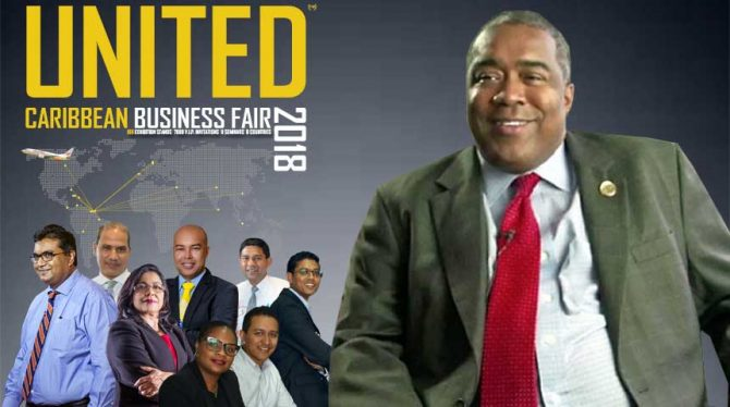 MINISTER HOEFDRAAD OPENT UNITED CARIBBEAN BUSINESS AND TRADE FAIR