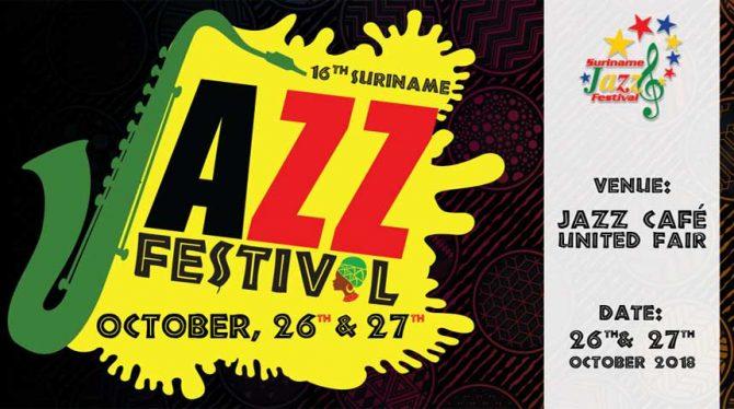SURINAME JAZZ FESTIVAL PRESENTEERT AFROJAZZ OP DE UNITED CARIBBEAN BUSINESS FAIR