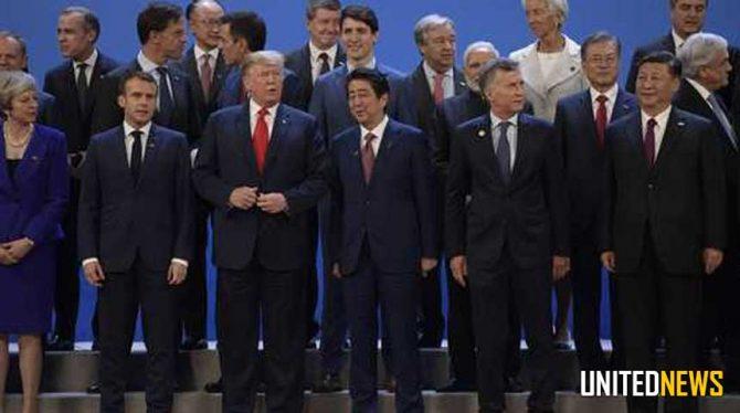 ALLE OGEN ZIJN OP TRUMP EN XI GERICHT BIJ G20