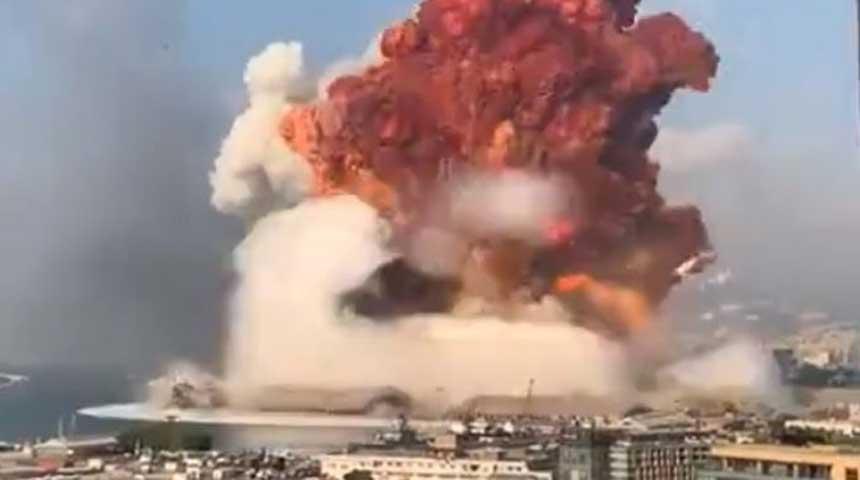 Wat gebeurde er echt in Beiroet? Vliegtuigen gesignaleerd vlak voor explosie